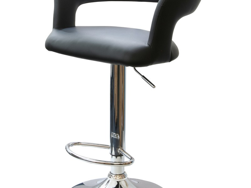 Adjustable Swivel Bar Stools With Back
