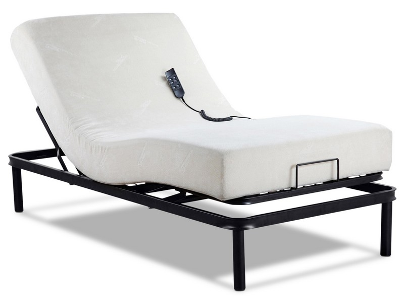 Adjustable Twin Bed With Remote