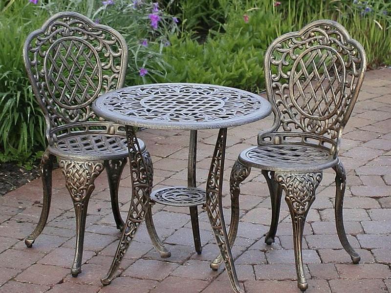Aluminum Bistro Chairs