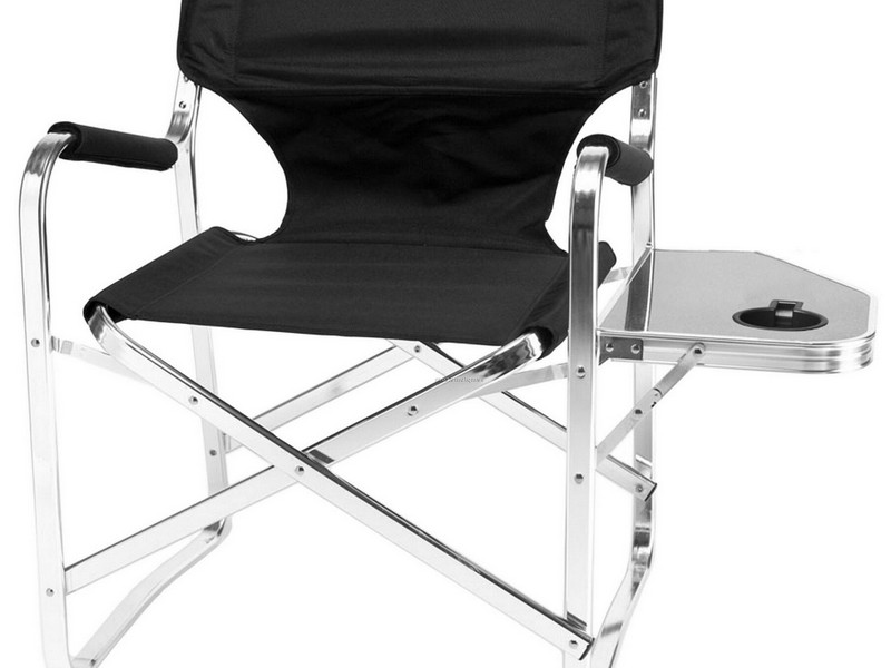 Aluminum Directors Chair With Side Table