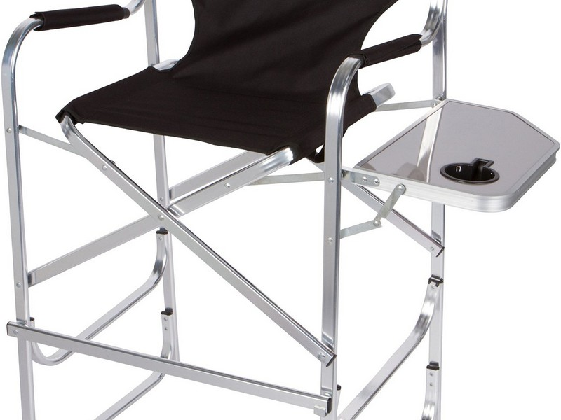 Aluminum Directors Chair With Table