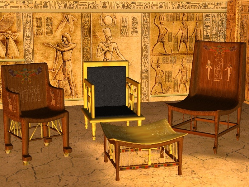 Ancient Egyptian Furniture Characteristics