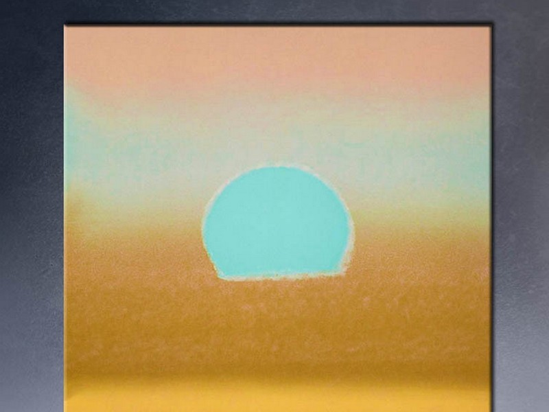 Andy Warhol Sunset Canvas