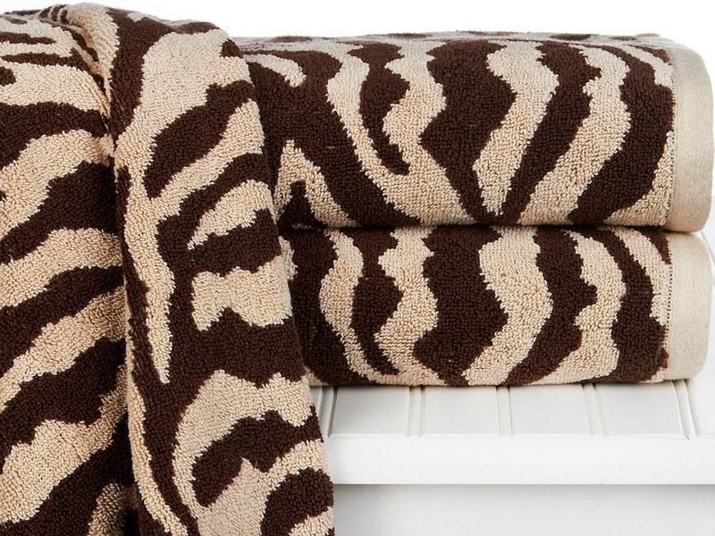 Animal Print Bath Towels