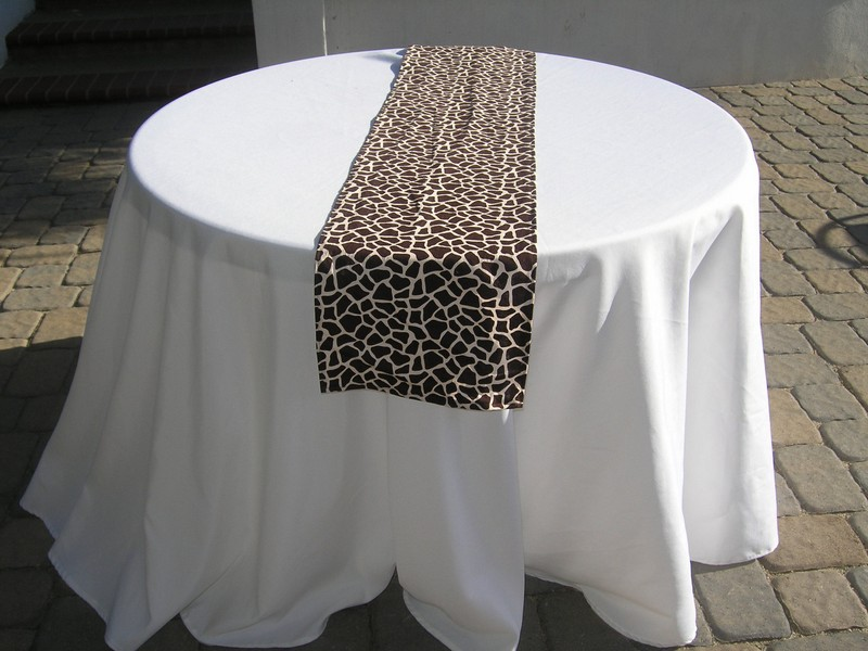 Animal Print Table Runners