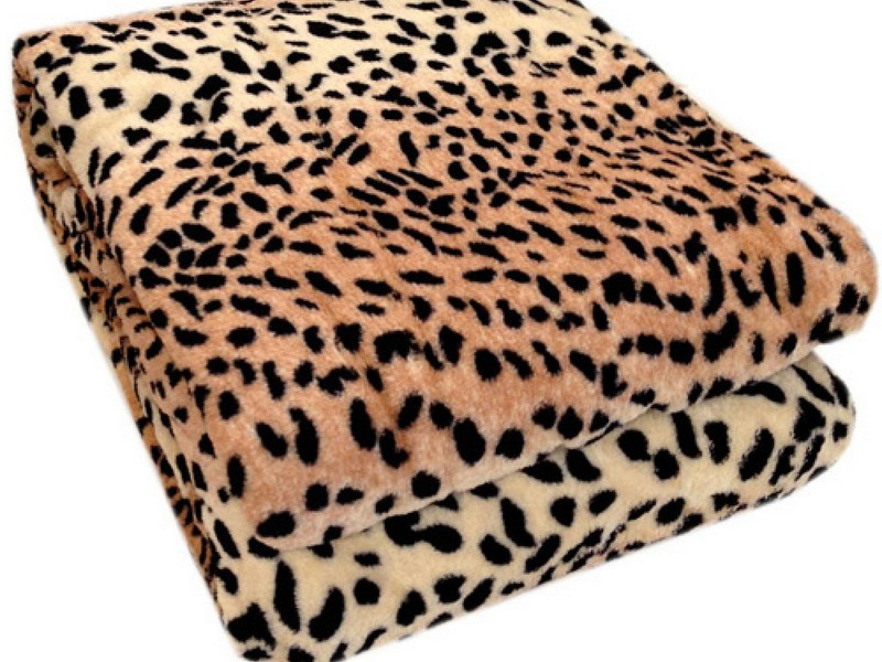 Animal Print Throws