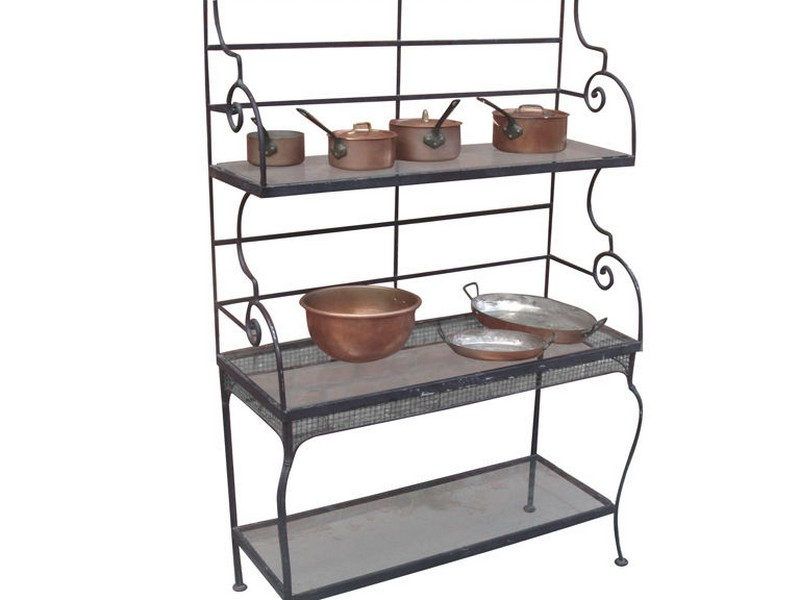Antique Bakers Rack