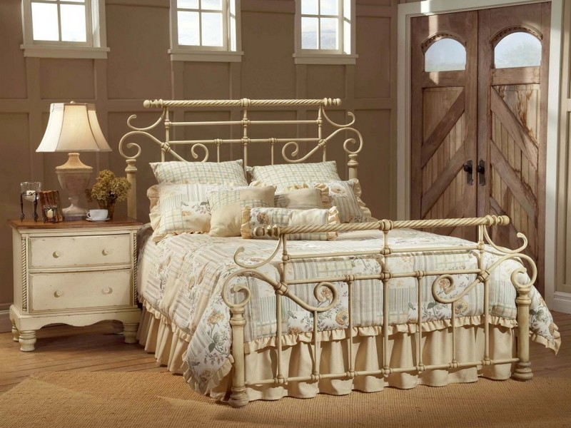 Antique Cast Iron Bed Frames