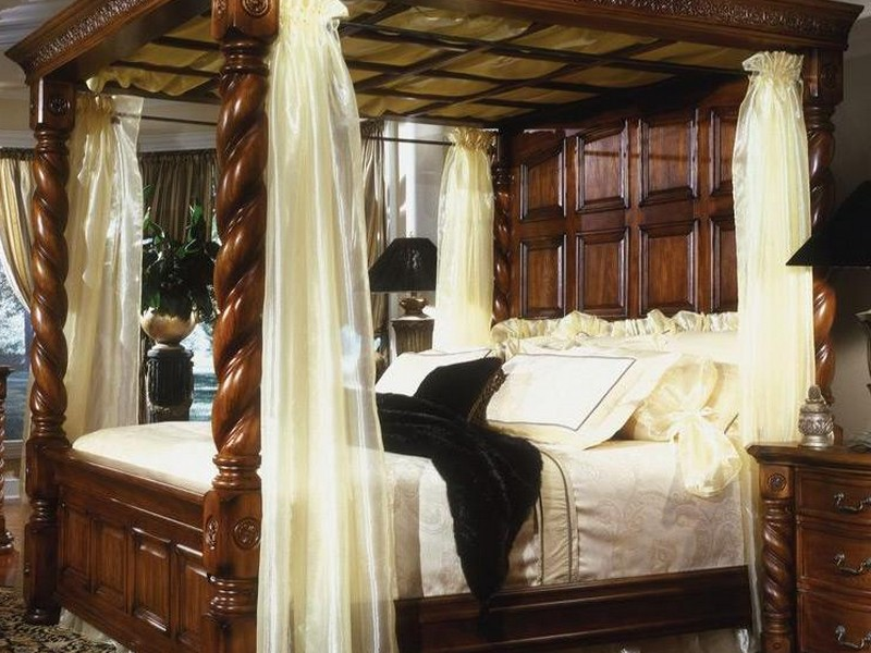 Antique Four Poster Bed Uk