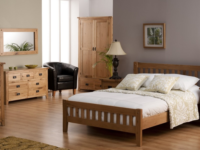 Antique Oak Bedroom Furniture Sets