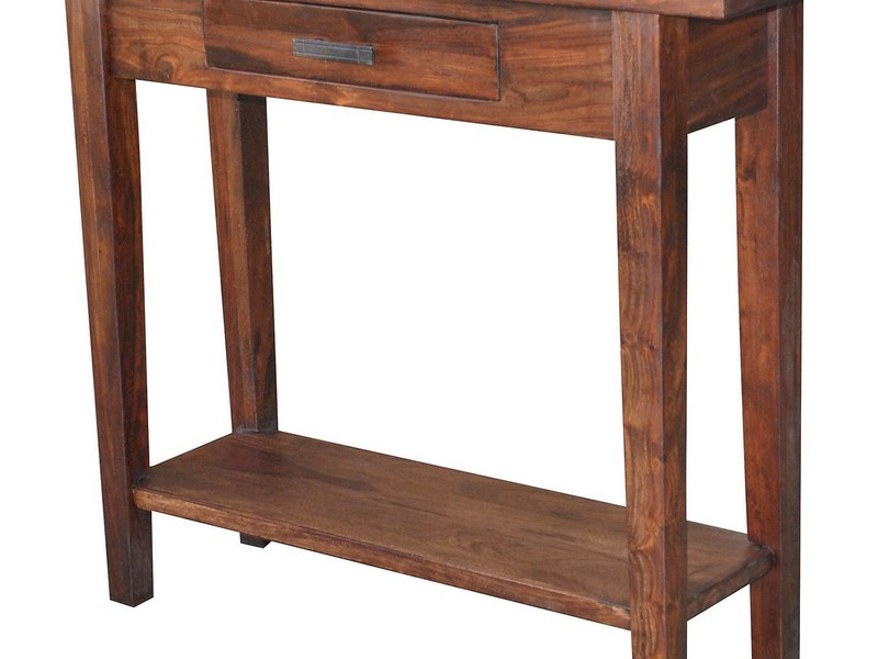 Antique Red Accent Tables