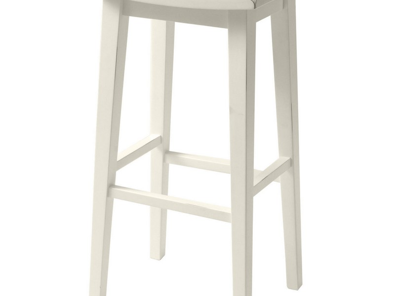 Antique White Bar Stools