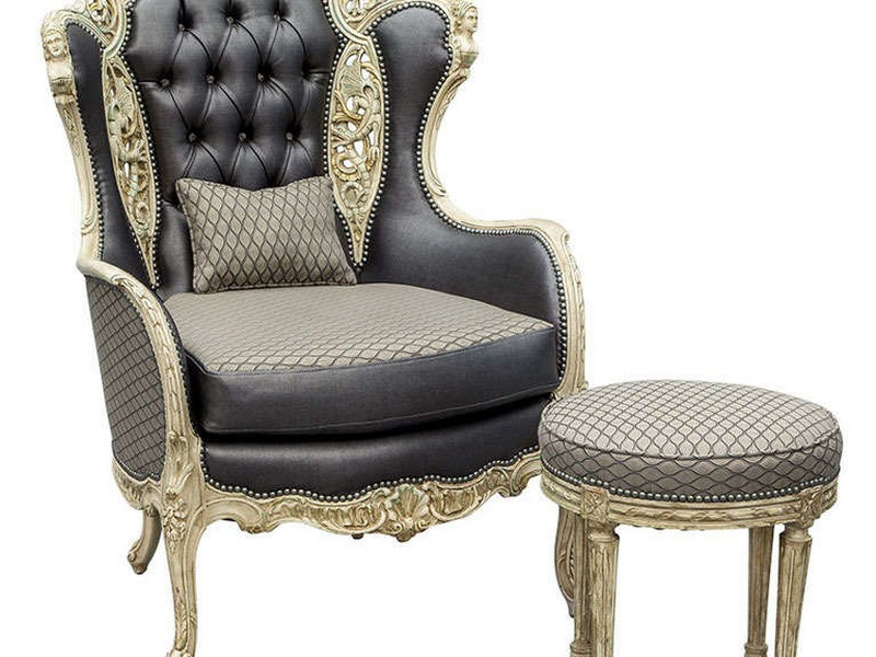 Antique Wingback Chair Value