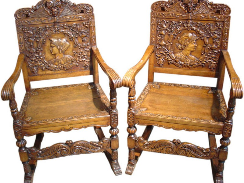Antique Wood Chair Styles
