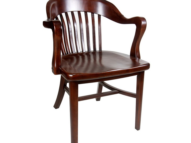 Antique Wooden Chairs With Arms