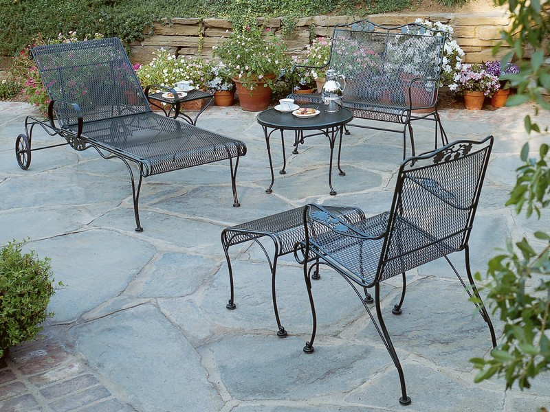 Antique Wrought Iron Patio Furniture Cushions