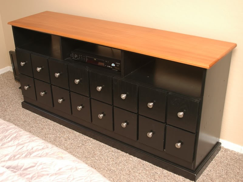 Apothecary Tv Stand Media Cabinet