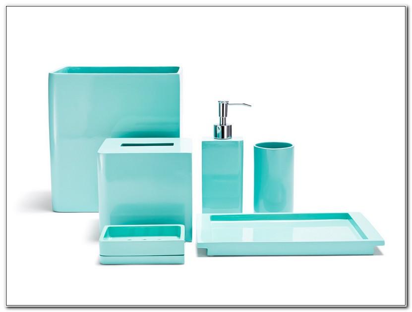 Aqua Green Bathroom Accessories