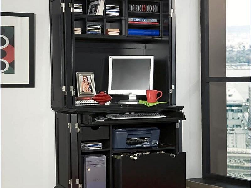Armoire Computer Desk