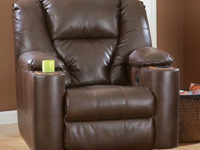 Ashley Furniture Leather Recliners