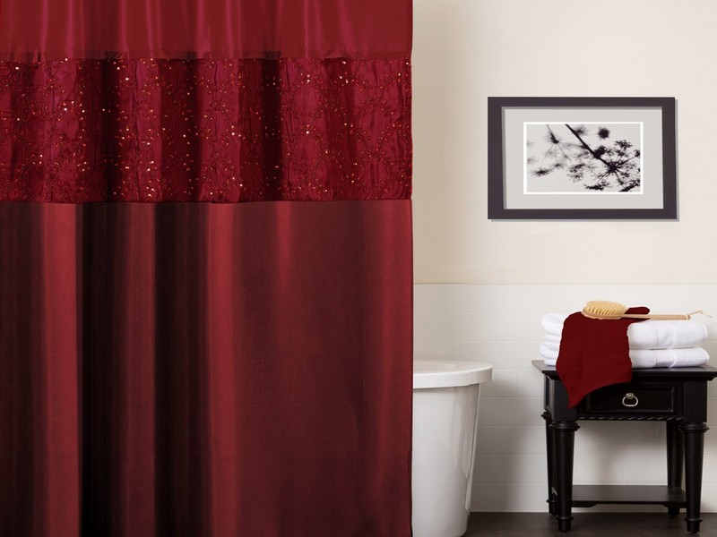 Asian Style Shower Curtain