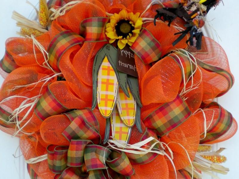 Autumn Wreath Craft Ideas