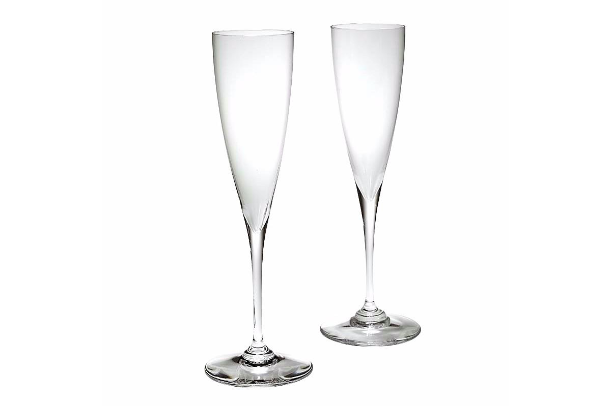 Baccarat Champagne Flutes Dom Perignon