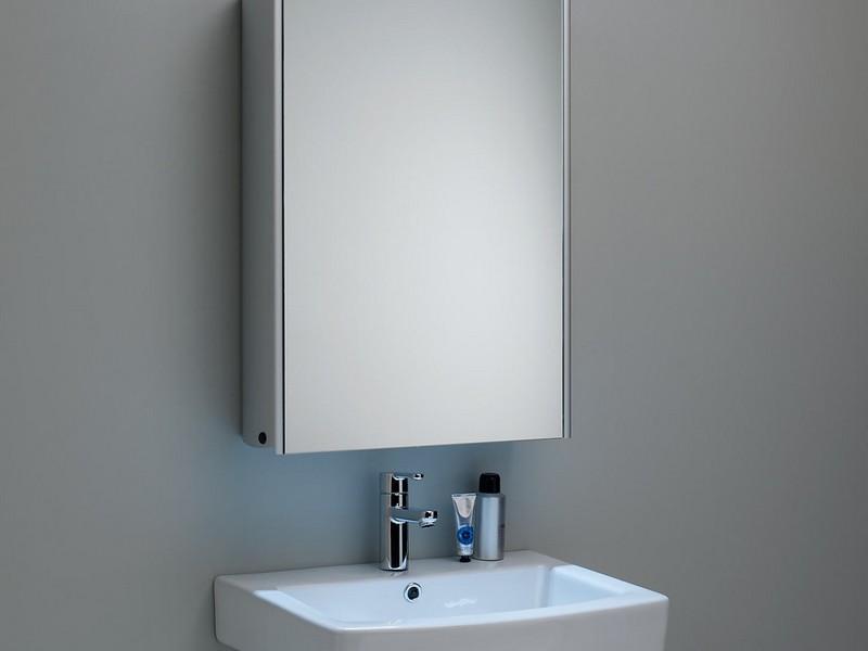 Backlit Bathroom Mirror Cabinet