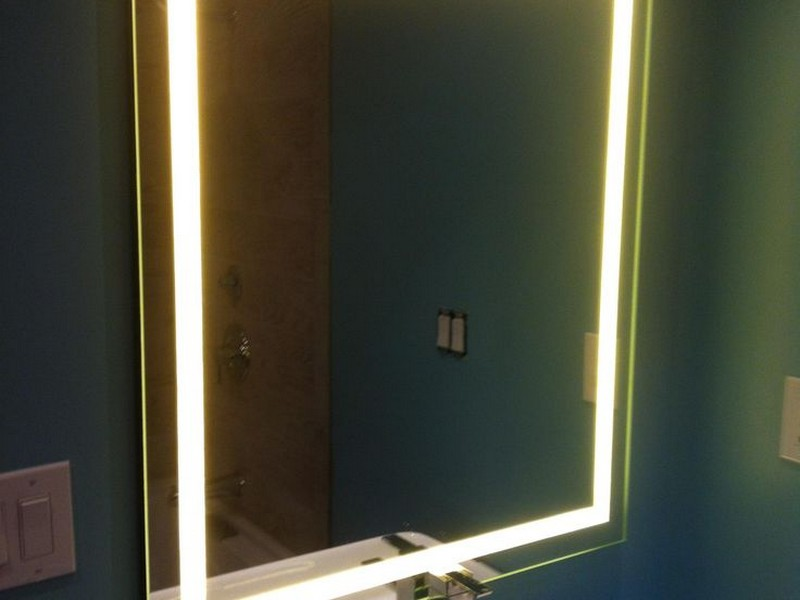 Backlit Bathroom Mirror Diy