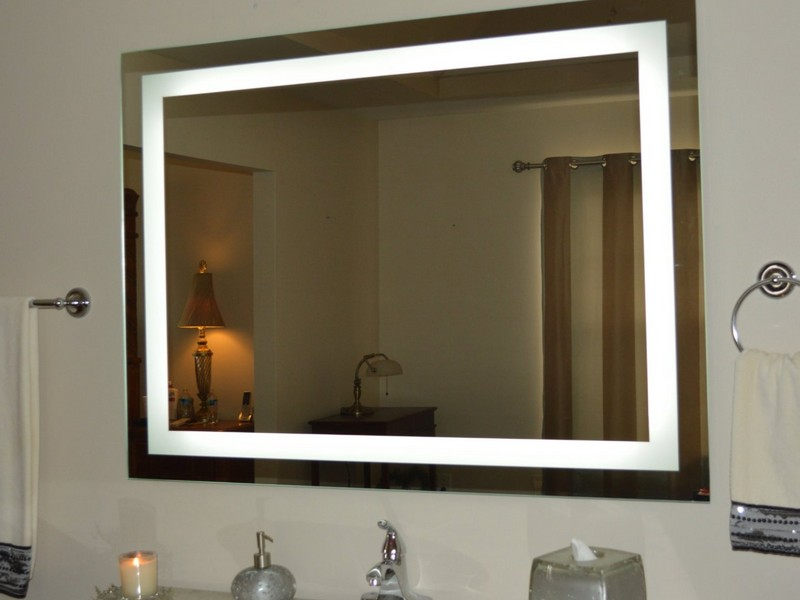 Backlit Bathroom Vanity Mirrors