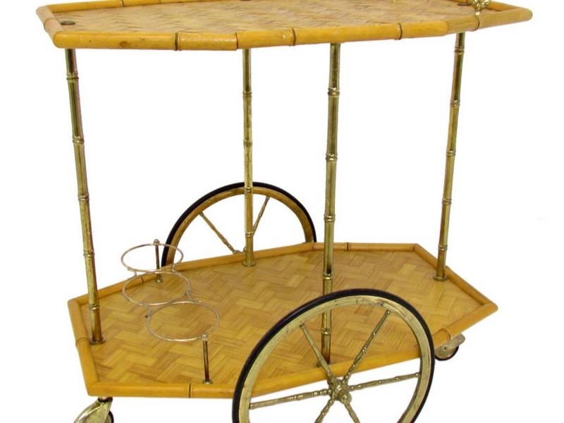 Bamboo Bar Carts