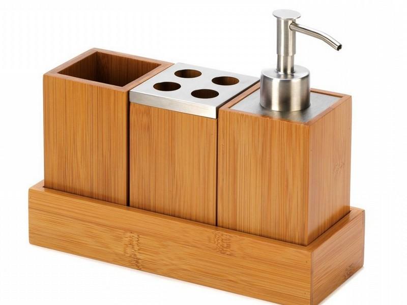 Bamboo Bathroom Accessories Canada