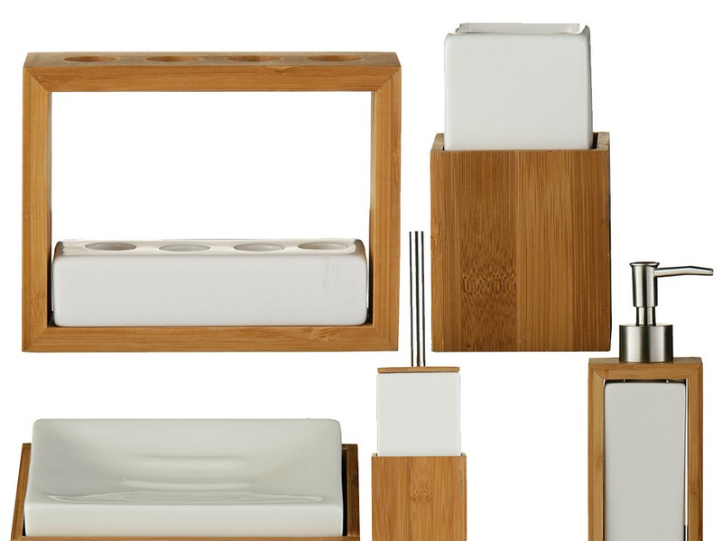 Bamboo Bathroom Accessories Uk