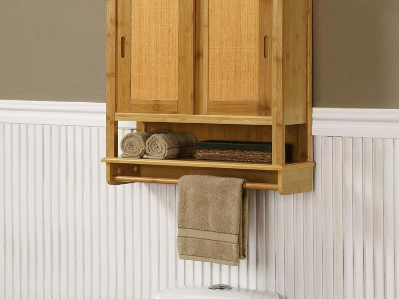 Bamboo Bathroom Storage Furniture