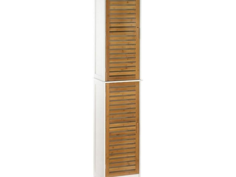 Bamboo Bathroom Storage Unit