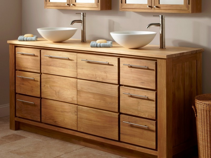 Bamboo Bathroom Vanities And Cabinets