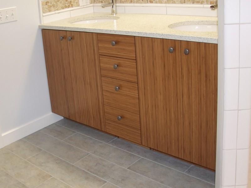Bamboo Bathroom Vanity Cabinet