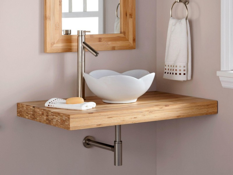 Bamboo Bathroom Vanity Top