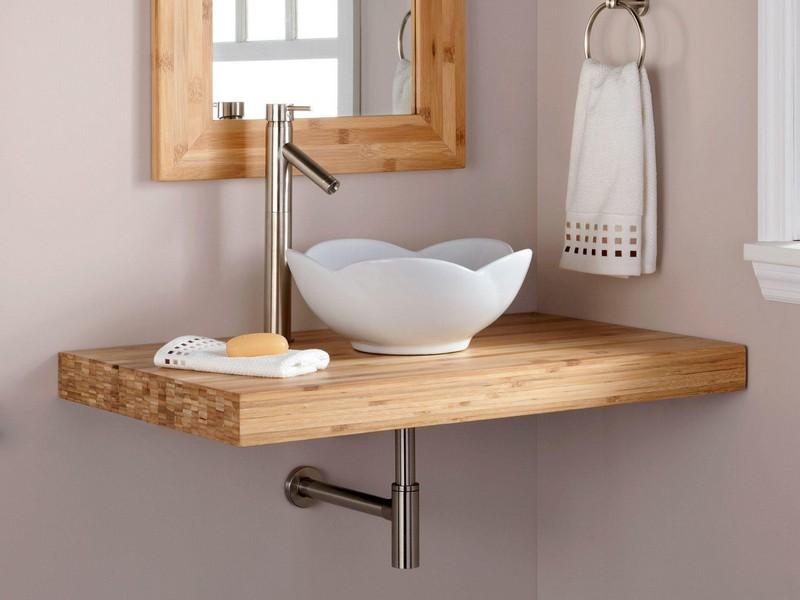 Bamboo Bathroom Vanity Top