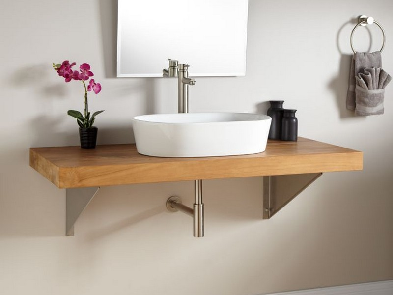 Bamboo Bathroom Vanity Wall Mount