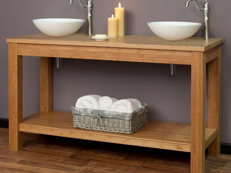 Bamboo Console Table Target