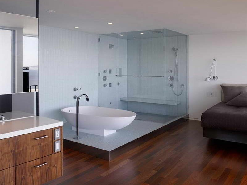 Bamboo Flooring In Bathroom Pictures