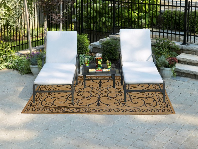 Bamboo Outdoor Rug Home Depot
