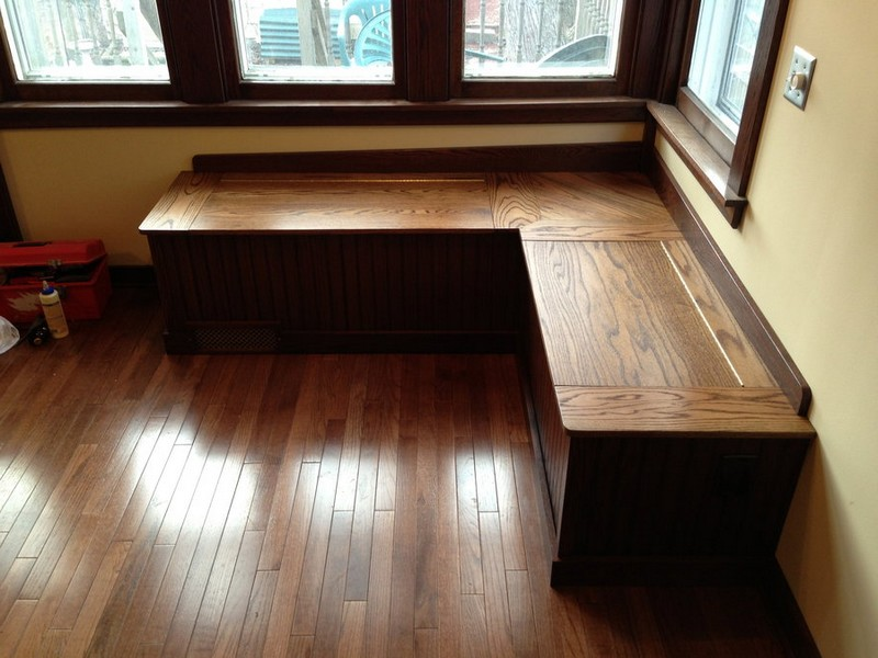 Banquette Bench Seating With Storage