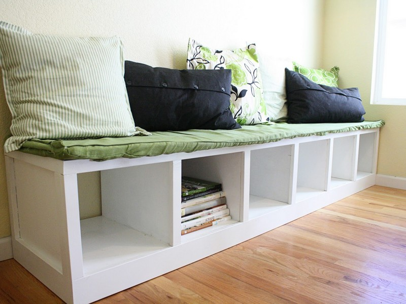Banquette Bench With Storage