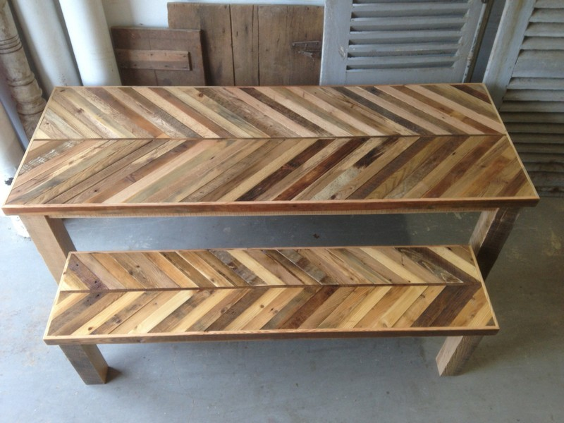 Barn Wood Kitchen Table