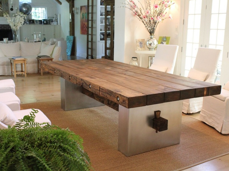 Barnwood Kitchen Table