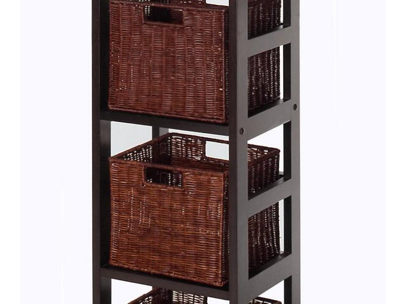 Basket Storage Shelves