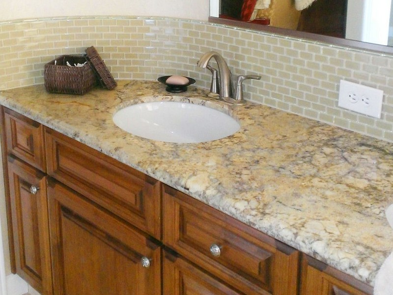 Bathroom Backsplash Ideas Granite Countertops