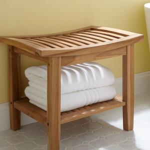 Bathroom Bench Seat Storage